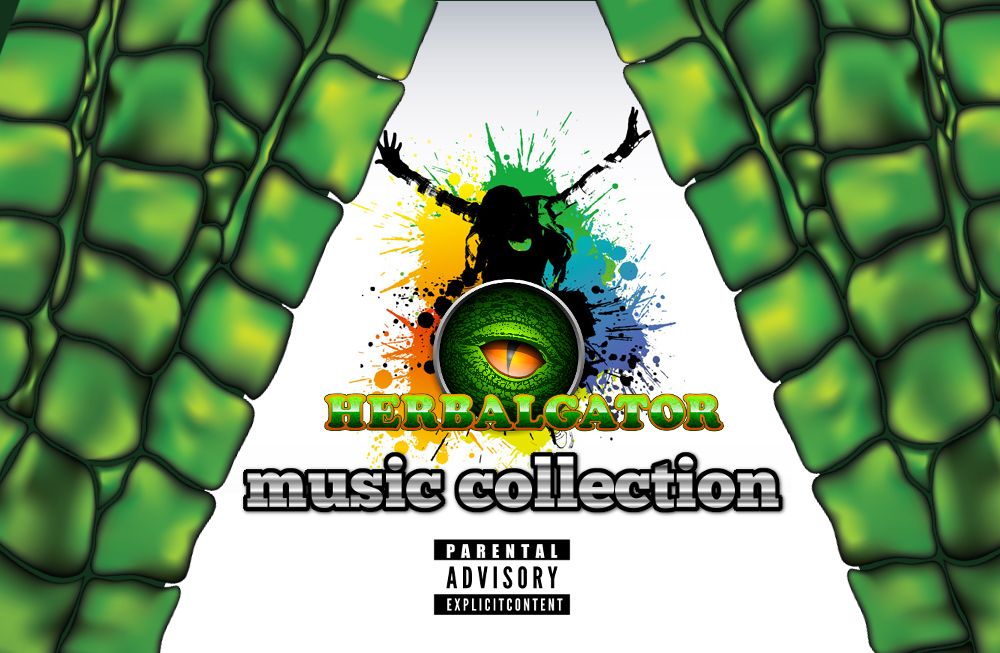 herbalgator music collection cover