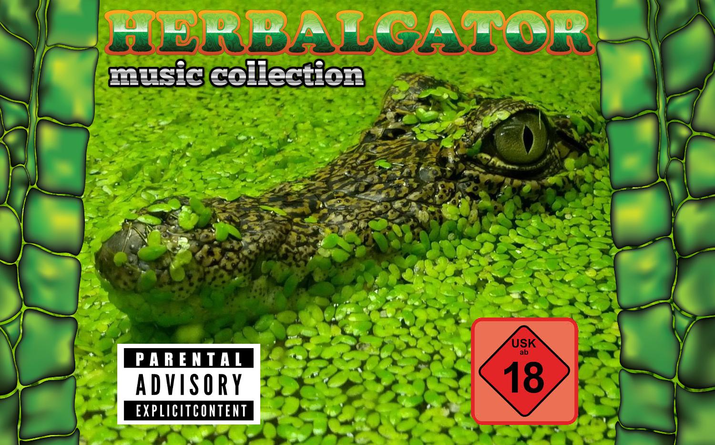 Herbalgator CD Cover