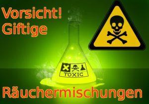 Giftige Raeuchermischungen und Kraeutermischungen